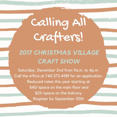 2017 Craft Show Ad