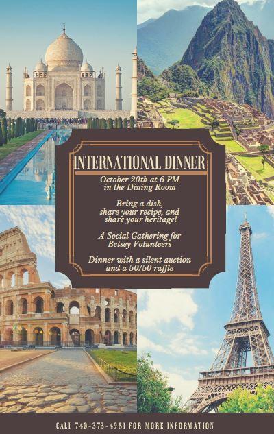 International Dinner Final
